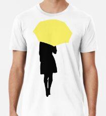 Gelber Regenschirm - HIMYM Männer Premium T-Shirts