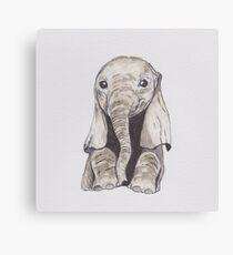 Lienzo Bebé elefante