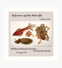 risg2018 - Reference at the Metcalfe  Art Print