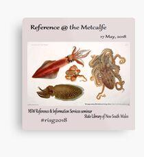 risg2018 - Reference at the Metcalfe  Metal Print