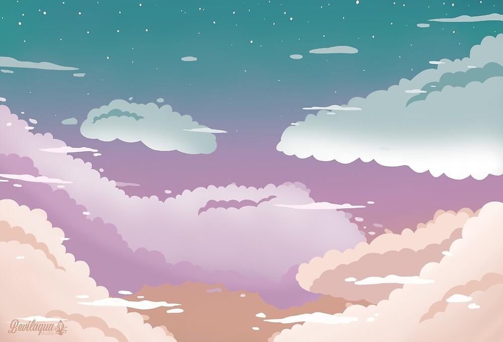 Sunset Sky by BevilaquaStudio