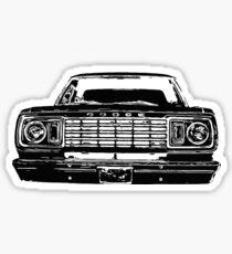77-78 Mopar Truck Sticker