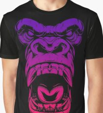 Face Gorilla Graphic T-Shirt