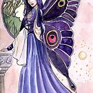 Violet Wings Fairy by Nicole Cadet