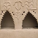 Rural area home interior Clay Cabinet by HAMID IQBAL KHAN