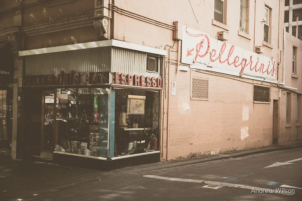 Pellegrinis by Andrew Wilson