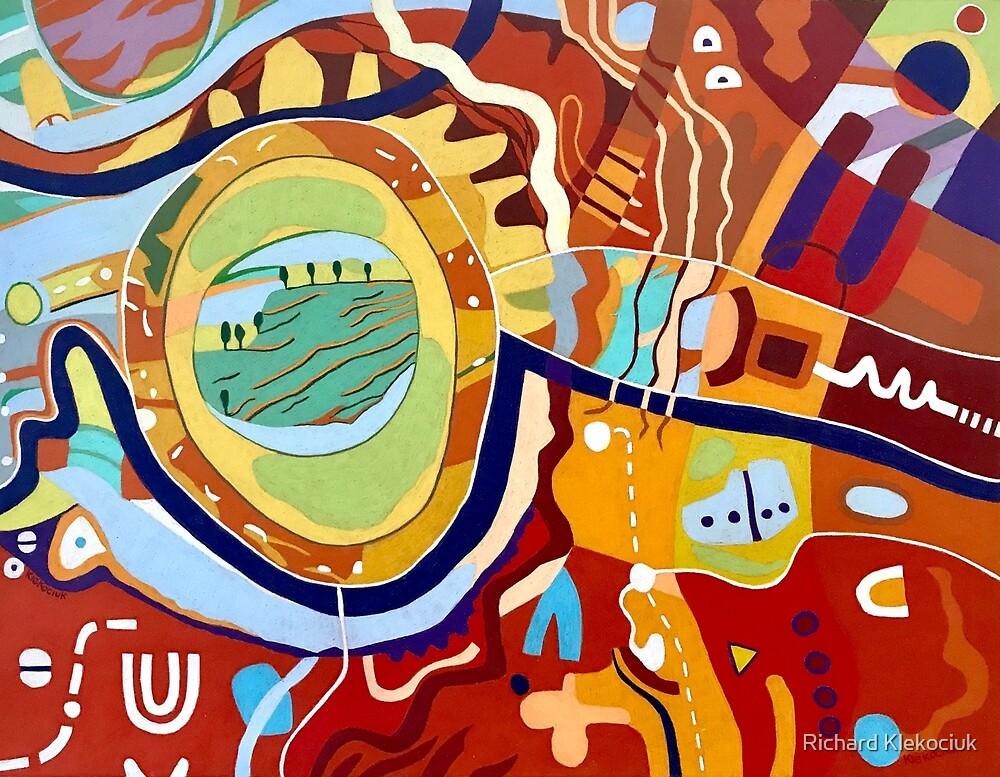 A Sunburnt Country by Richard Klekociuk