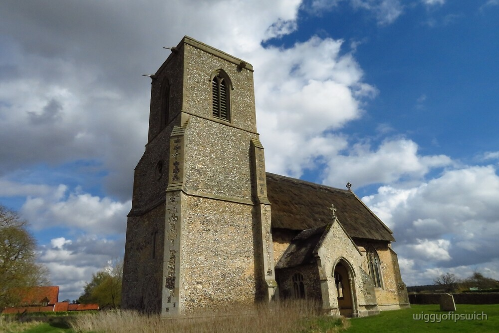 All Saints Church, Icklingham, Suffolk by wiggyofipswich