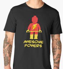 Lightning Minifig Awesome Powers Men's Premium T-Shirt