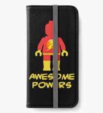 Lightning Minifig Awesome Powers iPhone Wallet/Case/Skin