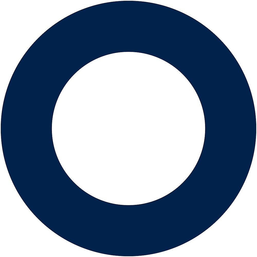 Roundel of the Australian Air Force, 1942-1946 (dull colors) by ofmany