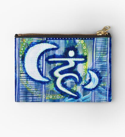 Throat Chakra Therapy: Inner Power Paintings Studio Pouch