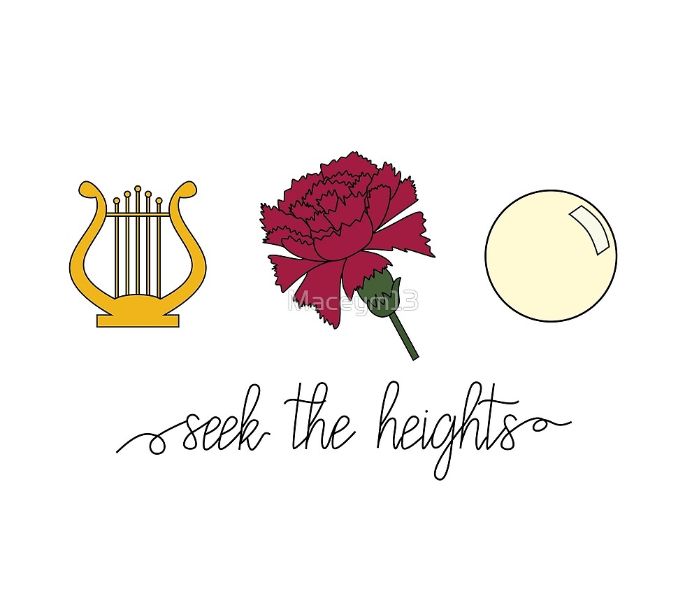 Lyre, Carnation, and Pearl - Seek The Heights by Maceym13