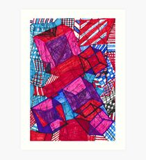 """Cubeism"" Art Print"