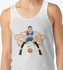 Gnarly Handles - Curry blue Tank Top