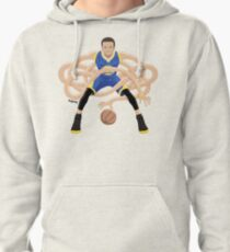 Gnarly Handles - Curry blue Pullover Hoodie