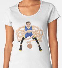 Gnarly Handles - Curry blue Women's Premium T-Shirt
