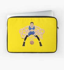 Gnarly Handles - Curry blue Laptop Sleeve