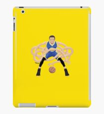 Gnarly Handles - Curry blue iPad Case/Skin