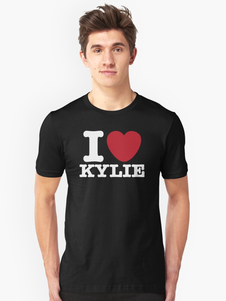 I Heart Kylie Unisex T-Shirt Front