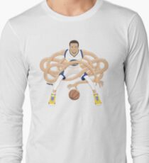Gnarly Handles - Curry white Long Sleeve T-Shirt