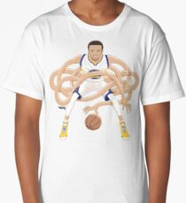 Gnarly Handles - Curry white Long T-Shirt