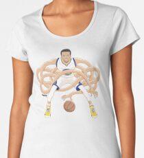 Gnarly Handles - Curry white Women's Premium T-Shirt