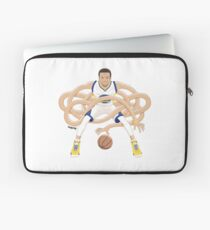 Gnarly Handles - Curry white Laptop Sleeve