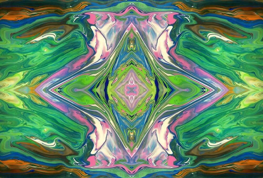 Alchemy (Flip) - Fluid Art/Acrylic Pour by chaosARTtas