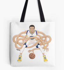 Gnarly Handles - Curry white Tote Bag