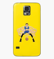 Gnarly Handles - Curry blue Case/Skin for Samsung Galaxy
