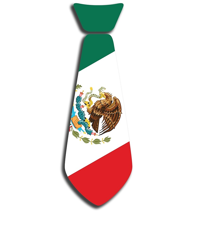 Cinco De Mayo- Funny Neck Tie Mexican Flag by hlcaldwell