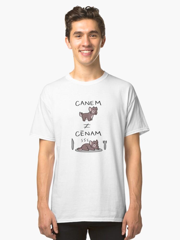 Latin Pun Classic T-Shirt Front
