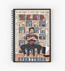 Read Everything Spiral Notebook