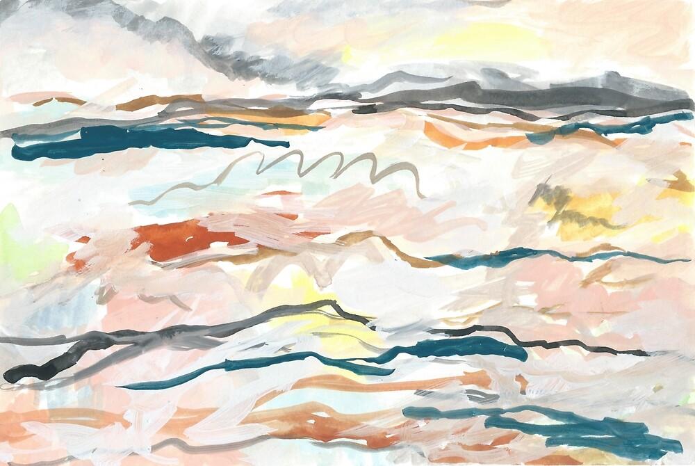 Abstract Landscape by Melinda Hunter