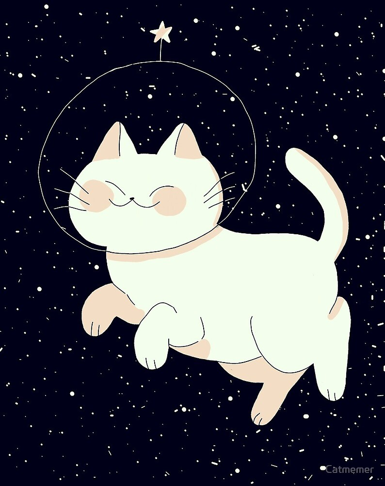 Space cat by Catmemer