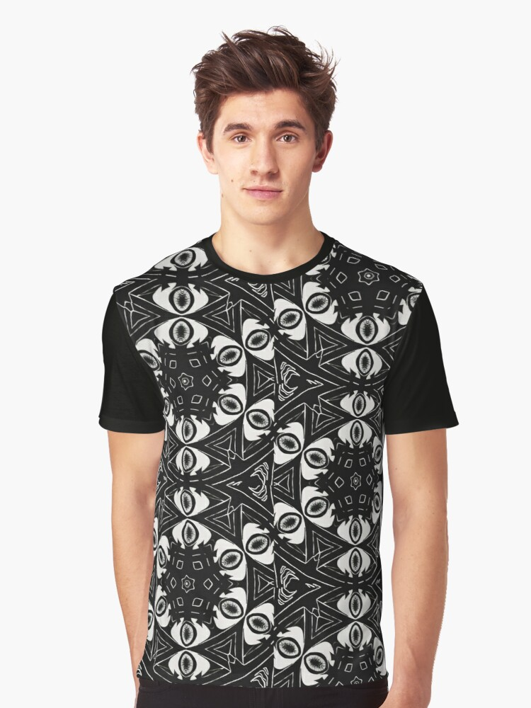 Eye Graphic T-Shirt Front