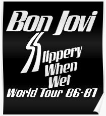 Bon Jovi Tour 2018 This House Not For Sale Posters Redbubble