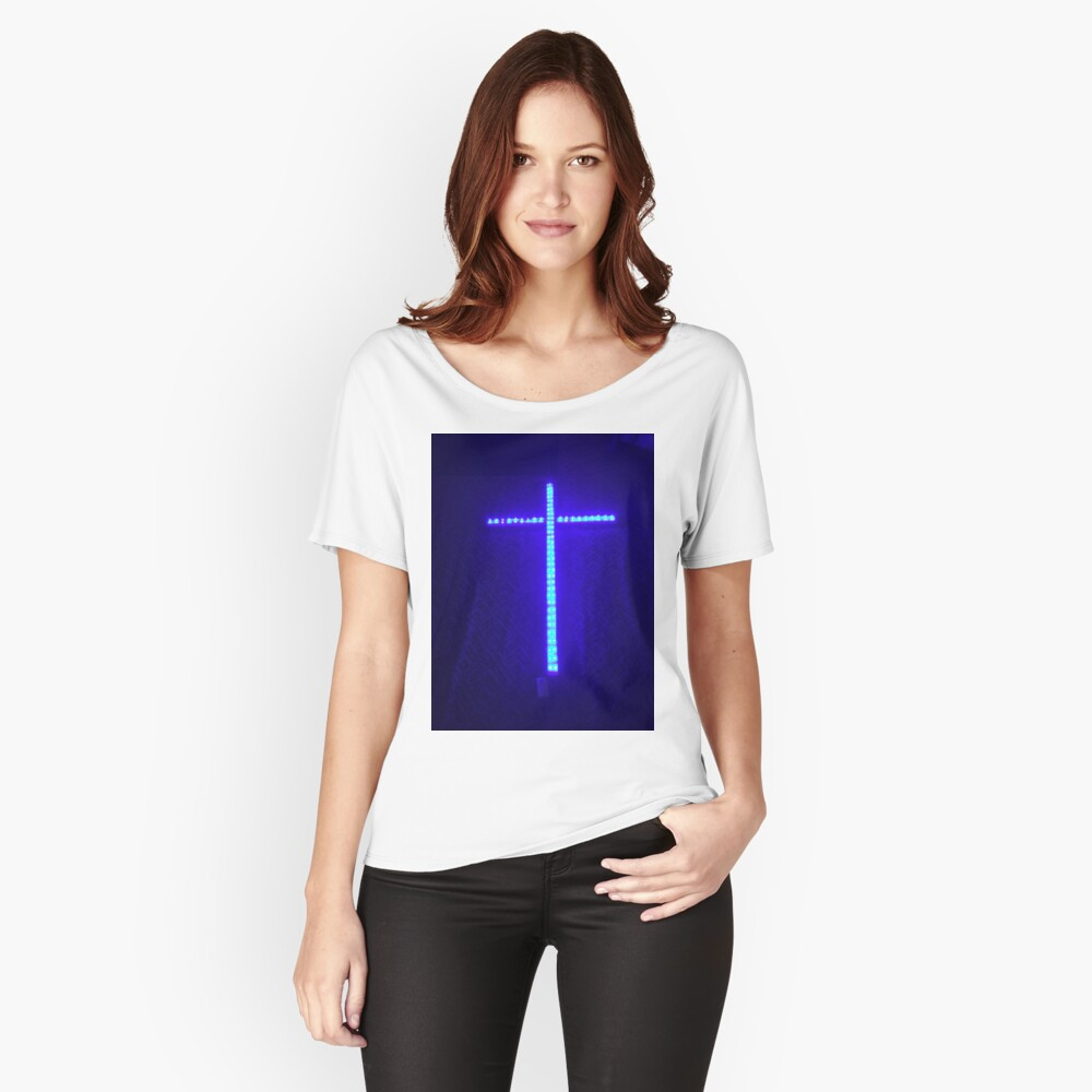 Cross of Lights Women's Relaxed Fit T-Shirt Front