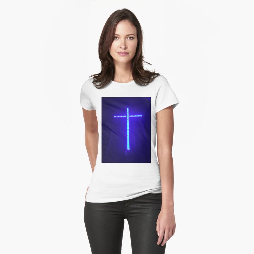 Cross of Lights Womens T-Shirt Front