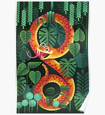 Mr Snake Visited the Optometrist Poster