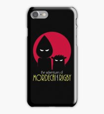 The Adventures of Mordecai & Rigby iPhone Case/Skin