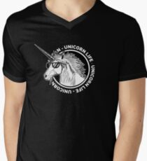 Unicorn Life Men's V-Neck T-Shirt