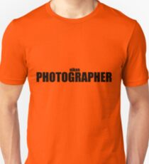 Nikon Photographer (Black) T-Shirt