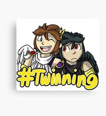 #Twinning [Kid Icarus: Uprising] Canvas Print