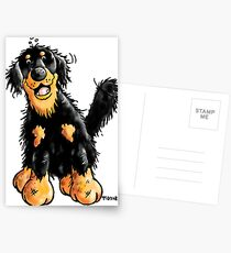 Funny Hovawart Cartoon Postcards