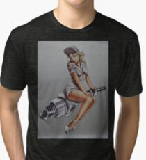 Homage sticker for Jan Groot Tri-blend T-Shirt