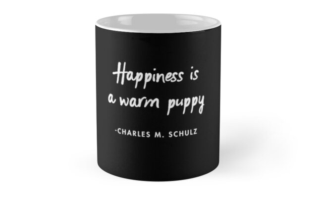 Happiness is a Warm Puppy  by AlanPun