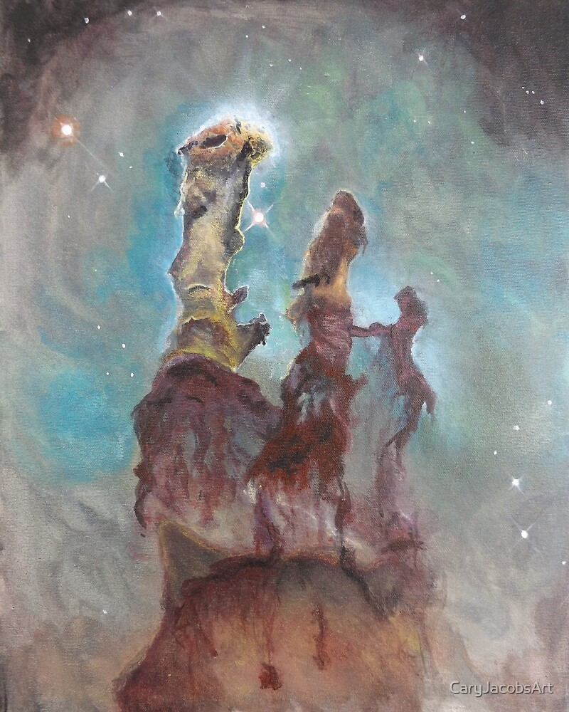 Pillars of Creation by CaryJacobsArt
