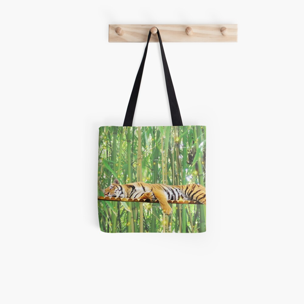 Sleeping Tiger Tote Bag